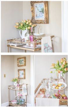 How to style a Spring Bar Cart