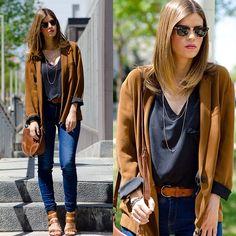 """786 Me gusta, 151 comentarios - Alba Zapater (@mstreinta) en Instagram: """"▪NEW POST▪ . . #mstreinta #fashionblogger #instalook #instafashion #outfit #streetstyle #style…"""""""