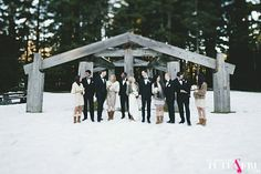 An incredibly romantic and luxe snowy winter wedding in the snow, with gorgeous forest portraits by Anastasia Photography and the most glam bride ever! Snow Wedding, Whistler, Winter Snow, Anastasia, Love Story, Romantic, In This Moment, Rustic, Wedding Ideas