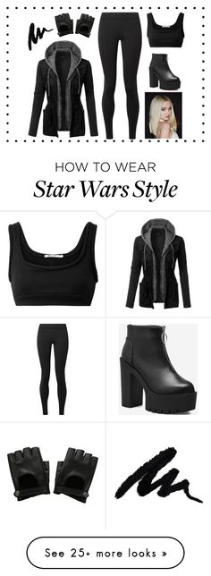 """""""Untitled #265"""" by novaquicksilver on Polyvore featuring LE3NO, T By Alexander Wang, The Row, Hot Topic and allblackoutfit Chic Outfits, Girl Outfits, Feminine Style, Feminine Fashion, Fitness Fashion, Women's Fashion, Going Out Outfits, Alexander Wang, The Row"""