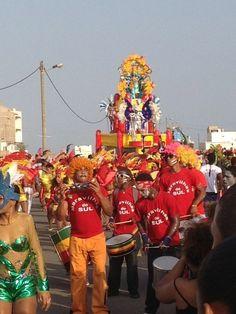 Carnaval in Santa Maria 13-02-2013