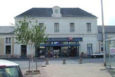 Gare SNCF de Montluçon.