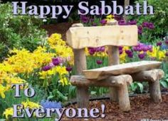 Happy Sabbath, Outdoor Furniture, Outdoor Decor, Home Decor, Happy Saturday, Interior Design, Home Interior Design, Yard Furniture, Garden Furniture