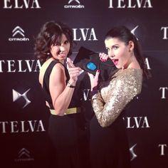 Gloria y Beatriz de Diario de belleza con vestidos largos de dc en la T de telva