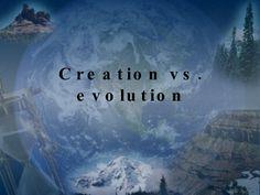 Creation vs Evolution slideshare