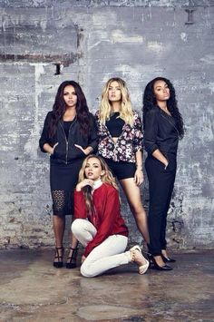 little mix, jesy nelson, and perrie edwards jade thirlwal leigh-anne pinnock Jesy Nelson, Perrie Edwards, Little Mix Girls, Little Mix Style, Little Mix Jesy, Sabrina Carpenter, Little Mix Photoshoot, My Girl, Cool Girl