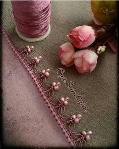 34 Legend Floral Beaded Pattern of Crochet Lace – # beaded # Floral # legend … - Stickerei Ideen Slip Stitch Crochet, Crochet Motifs, Crochet Collar, Crochet Lace, Crochet Stitches, Hand Embroidery Designs, Beaded Embroidery, Embroidery Patterns, Baby Knitting Patterns