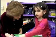 Lucy Calkins conferring with student writer