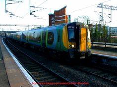 Class 310103 stands at Wolverton station. #trains #railways #traintravel #railtravel #travel #transport #englishtrains #britishtrains