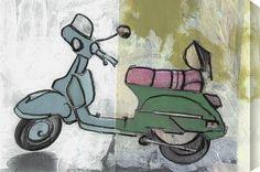 Scooters II by Benjamin Deal