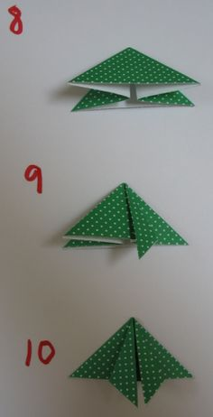 I LOVE origami. And, I love making cards. This easy project is for an origami Christmas card that you can make with the kids.        If y...