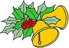 Campanas de navidad clip art. Puedes añadir texto a la gif.