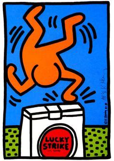 Lucky Strike, 1987  Silkscreen  11 1/2 x 8 1/2 inches   29.7 x 21 cm    Edition of 50