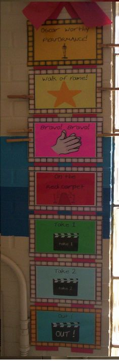 Great classroom management :)  I would just change the colors.