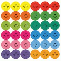 Smiley face stickers in Elementary school... then they came out with scratch and sniff!