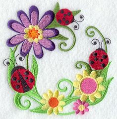 Machine Embroidery Designs at Embroidery Library! - Color Change - H2371