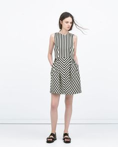 V-NECK DRESS-Dresses-WOMAN | ZARA United States