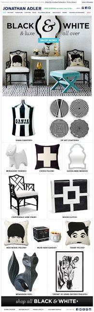 Jonathan Adler email design 2014