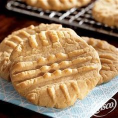 .  Irresistible Peanut Butter Cookies from Crisco®
