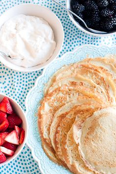 Gluten-Free Crepes: Make these sweet or savory for any meal of the day!