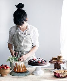Inspiring women .food photog, stylist, and writer Linda Lomelino