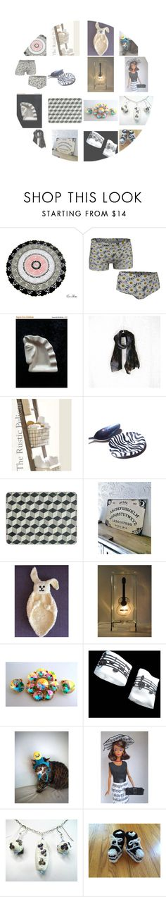 """""""Best on Etsy"""" by glowblocks ❤ liked on Polyvore featuring Hostess and Converse"""