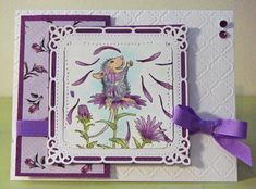 Photo Scraps - February 22, 2014 - Alice's 1st of 2 cards, House Mouse stamp