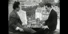 Duchamp y Man Ray en Erik Satie/René Clair: Entr'Acte (1924)