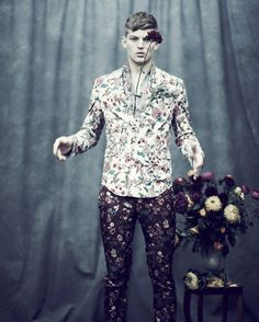 Those pants -- only for the right occasion. (In Bloom by Jason Hetherington for Observer Magazine)