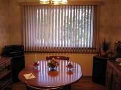Struggling with too-bright windows? These vertical S blinds from Levolor mean great room lighting and a nice look to boot!