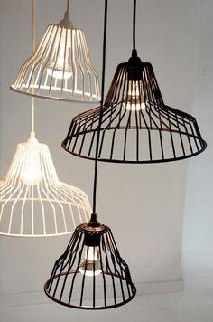 Puhlmann Jailbird Hanglamp 36 cm - Zwart