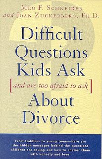Some book ideas for parents helping kids cope with divorce: http://breakupcarepackage.blogspot.com/2013/05/helping-your-child-cope-with-divorce.html