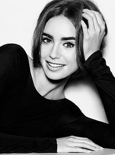 Lily Collins for Marie Claire Taiwan Magazine