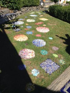 Stepping stones at the Giants house.