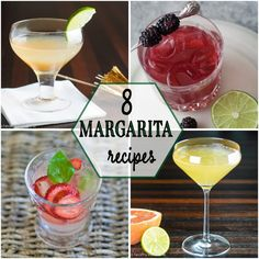 Margarita Day Cocktail Round Up