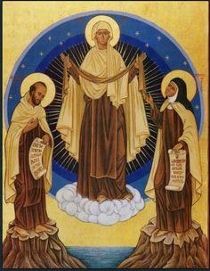 Johannes vom Kreuz und Theresa von Avila