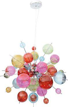 Pendelleuchte »Glasball«, 10-flg., Näve