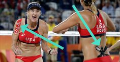 Here's Why Olympic Athletes Are Wearing That Tape on Their Bodies Kinesiology Taping, Olympic Athletes, Olympics, Bodies, Bikinis, Swimwear, Tape, Colorful, Bikini