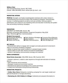 How To Write Internship Resume Sample Sales Resume Template  Write Your Resume Much Easier With .