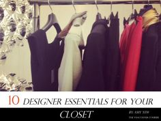 Designer essentials for your closet
