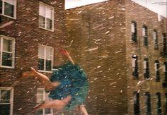 Agyness Deyn by Ryan McGinley for POP Magazine, Fall 2008.