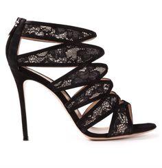 Gianvito Rossi Strappy Lace Sandals!!!