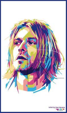 WPAP Kurt Cobain
