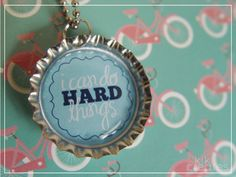 fun to make!  good idea for all the bottle caps I have saved for a great craft!