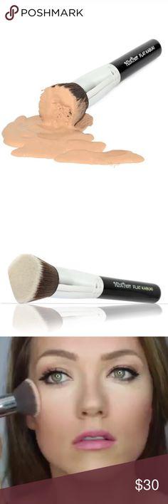 Selling this Flat Kabuki Makeup Brush on Poshmark! My username is: klbro. #shopmycloset #poshmark #fashion #shopping #style #forsale #Other