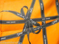 HERMES Tuch BOLDUC Silk in ORANGE ORIGINAL carré -90 x90 Scarf 550.-€ € 550,00
