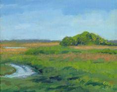 St Johns River - Original Florida Everglades Landscape Painting, Small