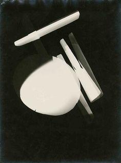 László Moholy-Nagy, Untitled (Photogram), Dessau, 1925.