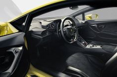 Lamborghini Huracan - The driver is cosseted in fine Nappa leather and suede-like Alcantara
