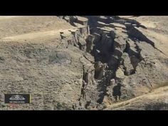 Huge 'Crack In The Earth' Opens Up In US Mountains - YouTube